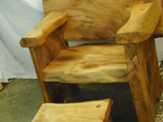 Sycamore-chair-stool