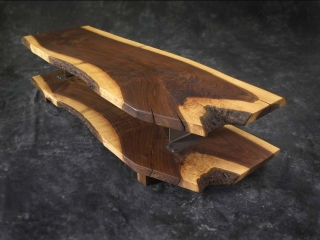 walnut coffe table zap