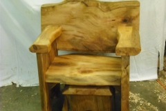 Sycamore-chair-stool-under